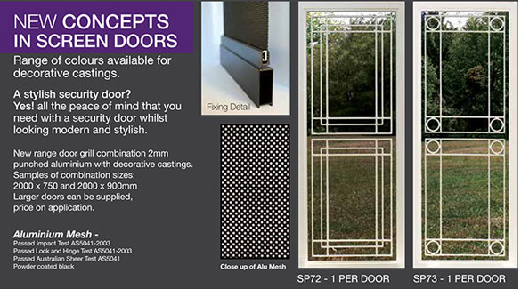 security doors screens decorative panels adelaide